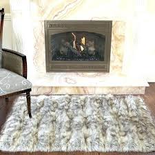 faux fur area rugs luxury rug sheepskin throw australia chair small ivory sh
