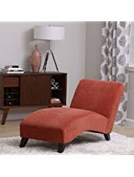 Bedroom Lounge Furniture Bella Orange Paprika Chaise Lounger Living Room Bedroom Office Patio Furniture Enclosed Deck Lounge