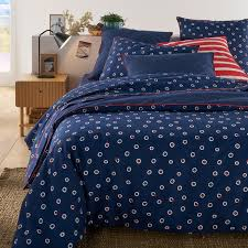 egyne duvet cover in polka dot print