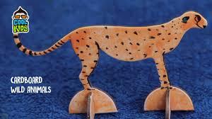 diy crafts cardboard fun cardboard crafts ideas giraffe cheetah cartoons you