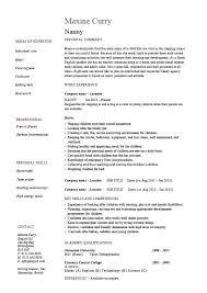 Nanny Job Description For Resume Stunning Babysitter Job Description Resumes Fast Lunchrock Co Simple Resume