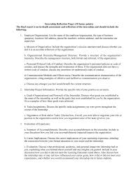 Career Reflection Paper Example Floss Papers