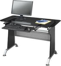staples star quality sabik glass metal computer desk 157 15 30 off star quality sabik glass metal computer desk