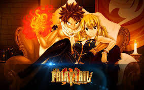 fairy tail lucy and natsu dragon force wallpaper anime wallpaper