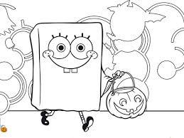 Disegni Di Halloween Da Colorare Spongebob Disegni Da Colorare Con