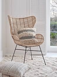 interior flat rattan wing chair natural quoet wingback lovely 0 rattan wingback chair