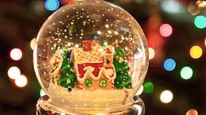 Boule de neige Noël - image animée GIF