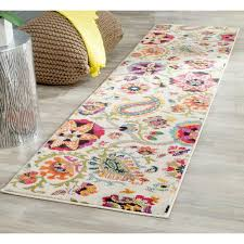 wellsuited 12 runner rug unbelievable multi colored area rugs the home depot