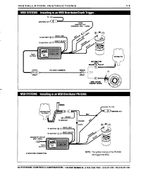msd 6 wiring diagram bypassing or removing dual ballast resistor below is a block diagram of the standard dodge electrical