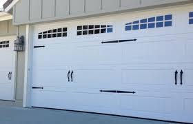 cascade garage doorCarriage House Long Panel Garage Door  Simi Valley  Archway