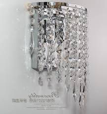 wall mount crystal chandeliers pertaining to fashionable modern luxury k9 crystal led wall lights lamp aluminum