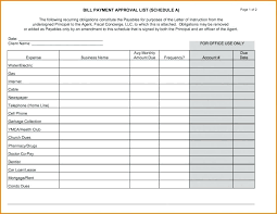 Free Printable Bill Payment Schedule Bill Payment Schedule Template Printable