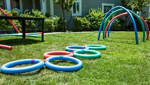 DIY Backyard Fun with Pool Noodles