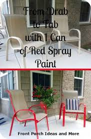 spray paint chair ideas your own lawn furniture painting