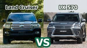 2018 Toyota Land Cruiser VS 2018 Lexus LX 570 - Luxury SUV Auto ...