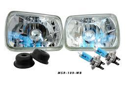 7X6 Euro Clear Headlights [2x MSR-109-WB] - $44.99