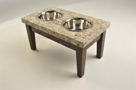 pet dish stands