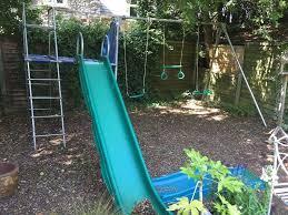 large garden swing slide tp toys