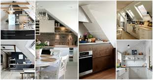 Attic Kitchen Sensational Attic Kitchens That Will Blow Your Mind