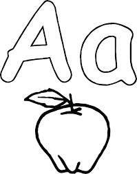 Apple Coloring Sheet Pages For Kindergarten Medium Orchard Sheets