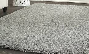get ations huge rug blowout 8 x 10 gray cozy solid rug