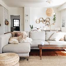 Cozy Yet Bright And Airy Living Room With A Light Gray Couch Amazing Bright Living Room Decoration