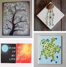 diy canvas wall art ideas 30 tutorials regarding designs 5