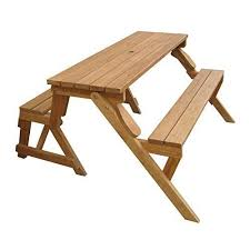 outdoor convertible picnic table bench interchangeable garden patio seat 2 in 1