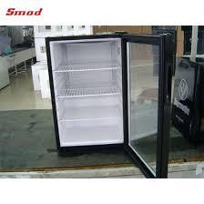 wholes mini glass door fridge for hotel and home use freezer china glass door refrigerator