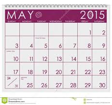 calendar for the month of may 2015 calendar month of may stock illustration image 45462222