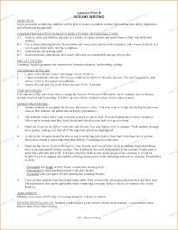 Good Resume Examples For Students 82 Images Resume Examples