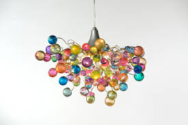 Lighting For Teenage Bedroom Lighting Hanging Chandeliers With Pastel Bubbles For Girls