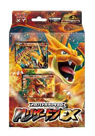 amazon pokemon card xy mega battle deck m charizard ex anese ver toys games