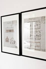 old drawings of the house framed love