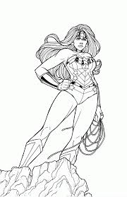Small Picture Wonder Woman Coloring Pages For Adults GetColoringPagescom