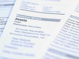Quarterly Balance Sheet Template Financial Statement Worksheet