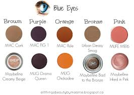 perfect shades to go with blue eyes