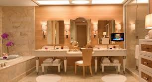 Elara Las Vegas 2 Bedroom Suite Premier Elegant The Salon Suite Bathrooms  At The Wynn Las Vegas Fore More