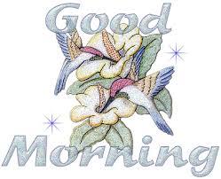 stylish good morning graphic