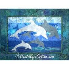 Dancing Dolphins, tivaivai manu, at Atiu Fibre Arts Studio, Cook ... & Dolphin Family Quilt Pattern 3881-19 Adamdwight.com