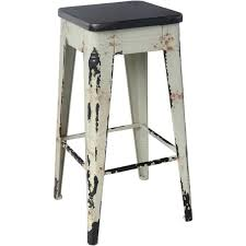 distressed metal bar stools. unique stools moeu0027s home collection sturdy distressed barstool with metal bar stools s