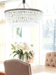 pottery barn adele chandelier crystal ambient lamp crystal ambient