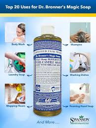 uses for dr bronners liquid castile soap