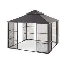aluminum full screen sliding door gazebo