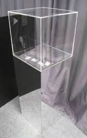 Mirrored Display Stands Mirror Plinths Displays 100 Go 4