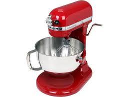 kitchenaid kv25mexer professional 550 plus 5 5 qt stand mixer bowl lift empire red