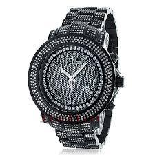 joe rodeo junior mens diamond watch 11 5ct black