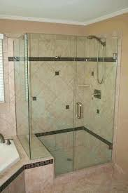 glass shower enclosures corner showers half glass shower door small images of bathroom ideas corner