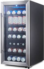 phiestina ph cbr100 106 can capacity mini fridge with glass door and handle