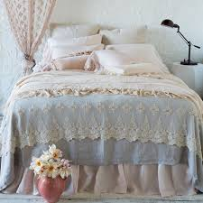 bella notte linens olivia lace bed throw